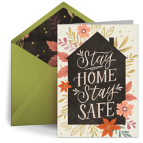 Stay Home, Stay Safe card image