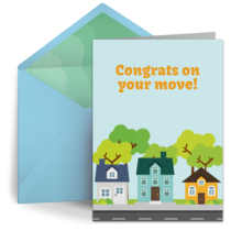 Congrats on Your Move card image