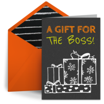 A Gift For The Boss card image