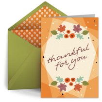Thankful for You card image