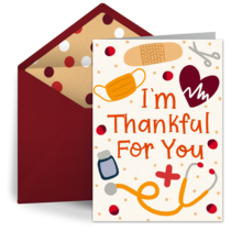 I'm Thankful For You card image