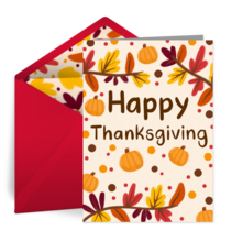 Happy Thanksgiving (There's Always Next Year!) card image