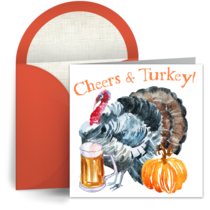 Cheers & Turkey! card image
