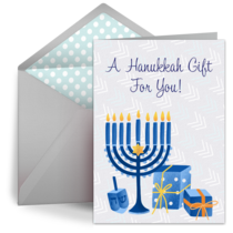 Hanukkah Gift For You card image