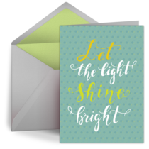 Let The Light Shine Bright card image