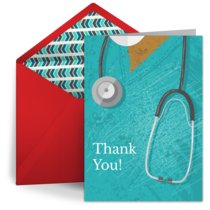 Nurse Thank You card image