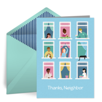 Thanks Neighbor card image