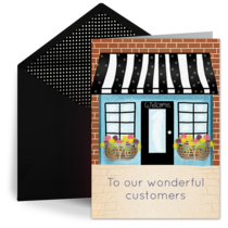 Thank You To Our Customers card image