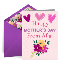 Happy Mother's Day From Afar card image