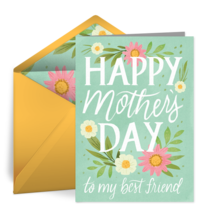 Mother's Day Best Friend card image