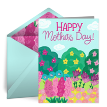 Mother's Day Garden card image