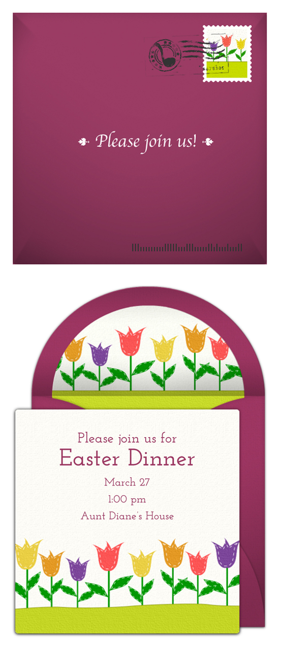 Free Easter Invitations