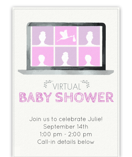 Virtual Baby Shower