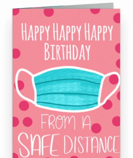 safe distance birthday