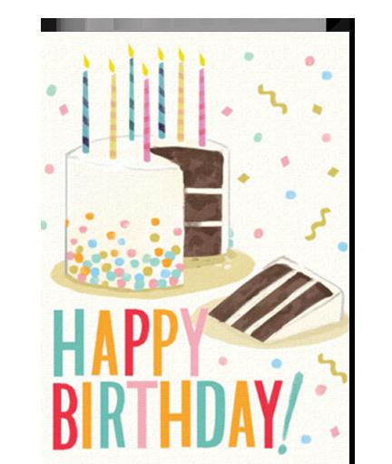 Happy Birthday Sprinkle Cake