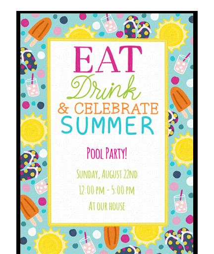 Eat, Drink, & Celebrate Summer