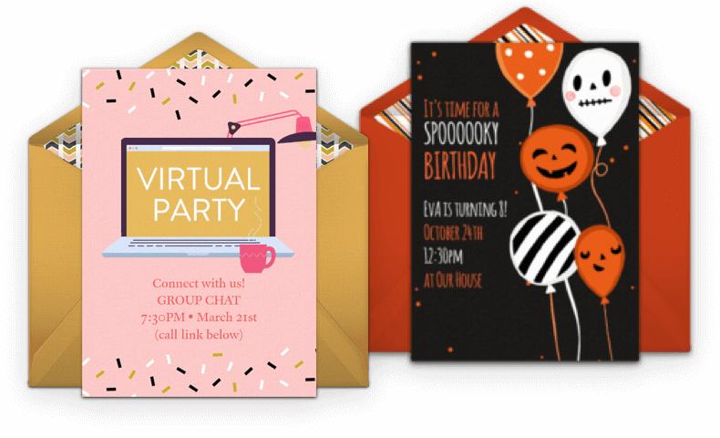 Browse Birthday Invitations