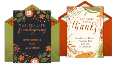 Browse Friendsgiving Invites