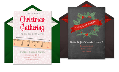 Browse Christmas Invites