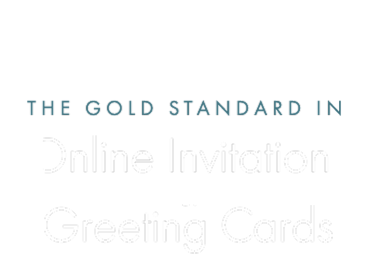 The Gold Standard in Online Invitations & Digital Cards mobile