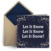 Snowy Woods card image