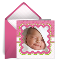 Pink Photo Frame card image