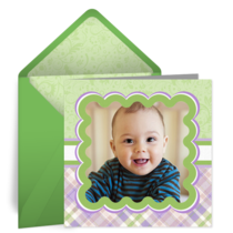 Green Photo Frame card image