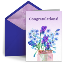 Flowers for You card image