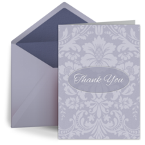 Elegant Thank You card image