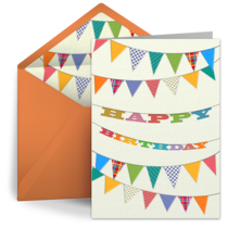 Kids Birthday Banner card image