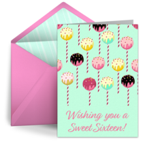 Sweet Sixteen Pattern card image