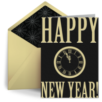 New Year Countdown card image