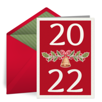 New Year Greetings card image