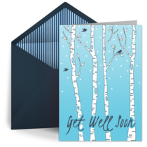 Cheerful Trees card image
