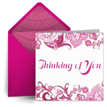 Thinking of You card image