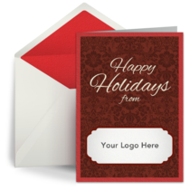 Holiday Logo card image
