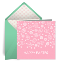 Easter Frills card image