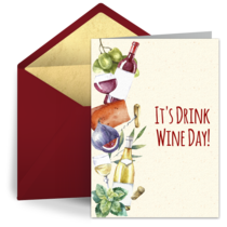 Drink Wine Day | Feb 18 card image