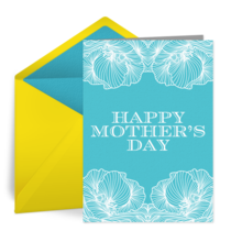Mother's Day Flowers card image