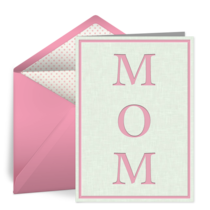Mom card image