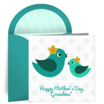 Grandma Bird card image