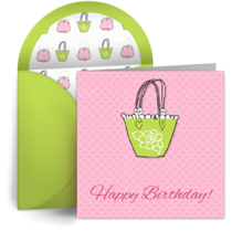 Birthday Frills card image