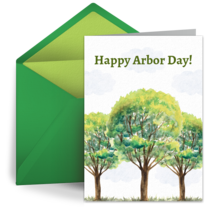 Arbor Day | April 27 card image