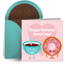 Donut & Coffee card image