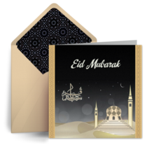 Eid Mosque card image