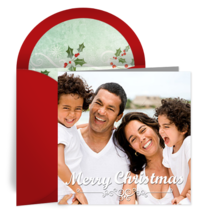 Merry Christmas Photo card image