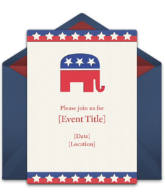 Free Political Online Invitations