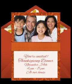 free thanksgiving online invitations punchbowl