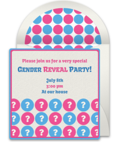 Free Gender Reveal Party Online Invitations Punchbowl