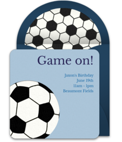 Free sports themed online invitations punchbowl soccer filmwisefo Image collections